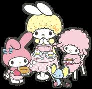 Sanrio Characters My Melody--Mama (My Melody)--My Sweet Piano--Flat Image001