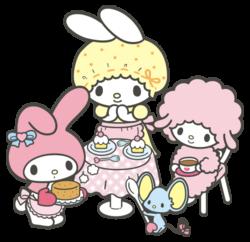 Sanrio Characters My Melody--Mama (My Melody)--My Sweet Piano--Flat Image001.png