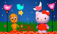 Sanrio Characters Tweety Hello Kitty Image022