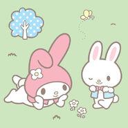 Sanrio Characters My Melody--Rhythm--Chocho Image001