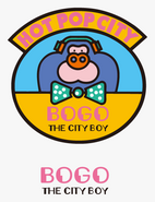 Sanrio Characters Bogo the City Boy Image007