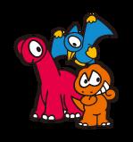 Sanrio Characters Blacky--Tiran--Tera Image002
