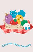 Sanrio Characters Country Fresh Veggies Image002