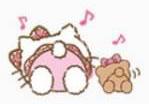 Sanrio Characters Hello Kitty--Tiny Chum Image007