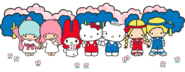 Sanrio Characters Little Twin Stars--My Melody--Hello Kitty--Dear Daniel--Patty & Jimmy Image001
