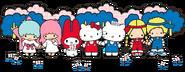 Sanrio Characters Little Twin Stars--My Melody--Hello Kitty--Dear Daniel--Patty & Jimmy Image001