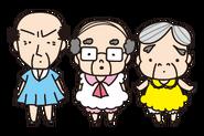 Sanrio Characters Chunenheroine Ojisan's Image003