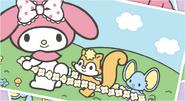 Sanrio Characters My Melody--Risu--Flat Image007