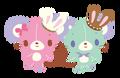 Sanrio Characters Cocoa--Vanilla (Sugarbunnies) Image003