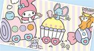 Sanrio Characters My Melody--Risu--Flat--Mogura Image001