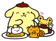 Sanrio Characters Pompompurin--Muffin--Bagel--Scone Image001