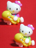 Tweety and hello kitty toys