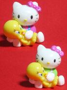 Tweety and hello kitty toys