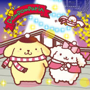 Sanrio Characters Pompompurin--Macaroon--Syrup--Christmas Image001