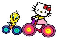 Sanrio Characters Tweety Hello Kitty Image013