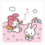 Sanrio Characters My Melody--Rhythm Image001