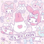 Sanrio Characters My Sweet Piano--My Melody Image003