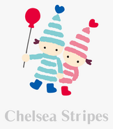 Sanrio Characters Chelsea Stripes Image007