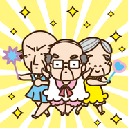 Sanrio Characters Chunenheroine Ojisan's Image001