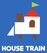 Sanrio Characters House Train Image007