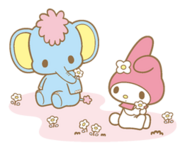 Sanrio Characters My Melody--Zou Image001
