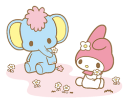 Sanrio Characters My Melody--Zou Image001.png