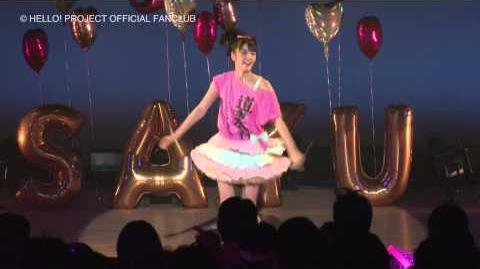 DVD「Morning Days Happy Holiday 道重さゆみバースデーファンクラブツアー in 山口」