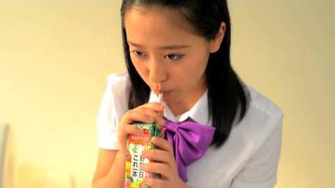 カゴメ 「フチ娘。といっしょにこれイチ!動画」 モーニング娘。'14 小田 さくら