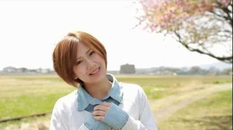 ℃-ute - Kimi wa Jitensha Watashi wa Densha de Kitaku (MV) (Okai Chisato Another Lip Ver