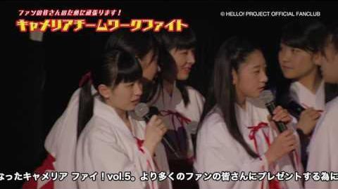 DVD『つばきファクトリー応援企画 ~キャメリア ファイッ!vol