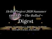『Hello! Project 2020 Summer COVERS ~The Ballad~』Digest(A team)