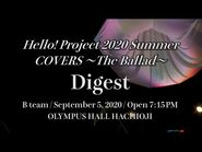 『Hello! Project 2020 Summer COVERS ~The Ballad~』Digest(B team)