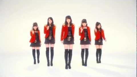 ℃-ute - Kimi wa Jitensha Watashi wa Densha de Kitaku (MV) (Dance Shot Ver
