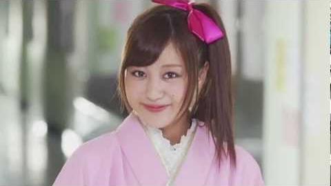 Berryz Koubou × ℃-ute - Amazuppai Haru ni Sakura Saku (MV) (Hagiwara Mai Solo Ver