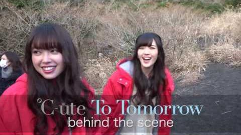 """℃-ute - Making V """"To Tomorrow Final Squall The Curtain Rises"""" Digest Video"""