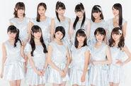 Morning Musume 17 promoting Jealousy Jealousy