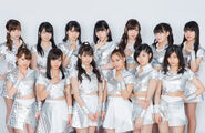 Morning Musume '18 promoting Are you Happy