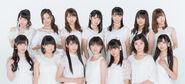 Morning Musume '17 promoting Wakain da shi!
