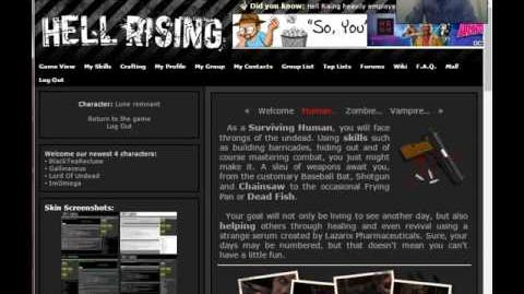 Hell rising part one To arms!
