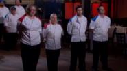 Rochelle, Sandra, Scott, and Anton Nominated