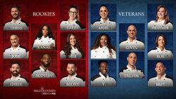 Season 18 Hell S Kitchen Rookies Vs Veterans Hells Kitchen Wiki Fandom