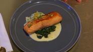 Megan's Final Tasting Dish (Seafood Entrée)