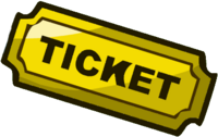 A Ticket; used in the Payvault as a premium currency.