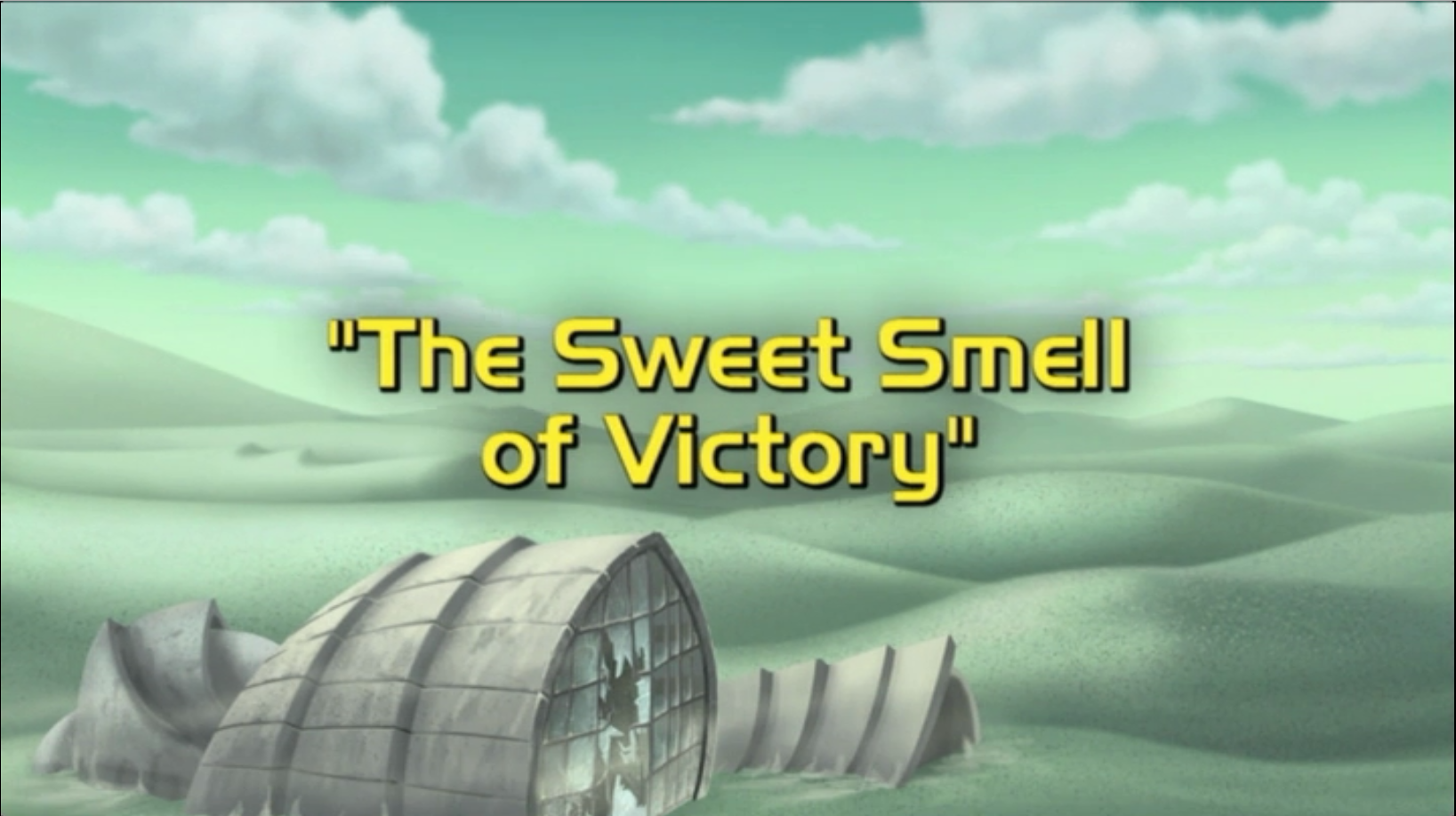 The Sweet Smell of Victory