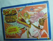 Ladybird-Princess-Power-She-Ra-book 4 Exciting Adventures Front Cover