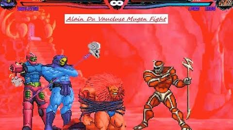 Mugen Skeletor (He-Man) Vs Lord Zedd (Power Ranger) (Request)