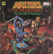 MOTU The Sword Of Skeletor - Golden Super Adventure