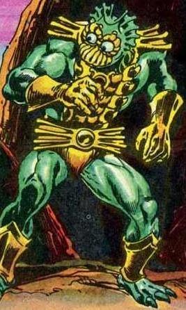 Mer-Man (early minicomics)
