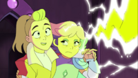 Glimmer stops drunk Adora from zapping herself