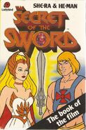 The secret of the sword Ladybird Books Cover